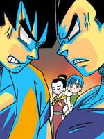 Saiyajin Rivality. by Xx-Tenten-xX