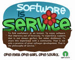 Open Source Ad by paniq