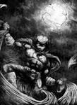Moon Ghost (Moon Knight ) by AppleJackieClank241