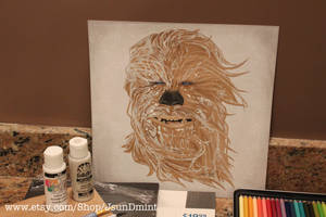 Chewy Painting - Star Wars by R1VENkassle