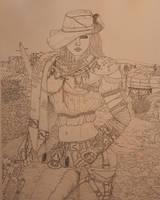 Fallout Pipgirl by R1VENkassle