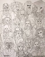 Jedi Poster Lines by R1VENkassle