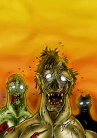 Zombies Color by BouncieD