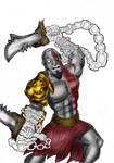 Kratos - God of War by BouncieD
