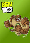 Humungousaur from Ben 10 by BouncieD