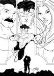Invincible Fake Cover Inks by BouncieD