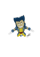 Lil Wolvie by BouncieD