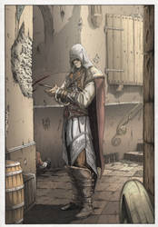Ezio Auditore Assassin's Creed II Colorjob by BouncieD