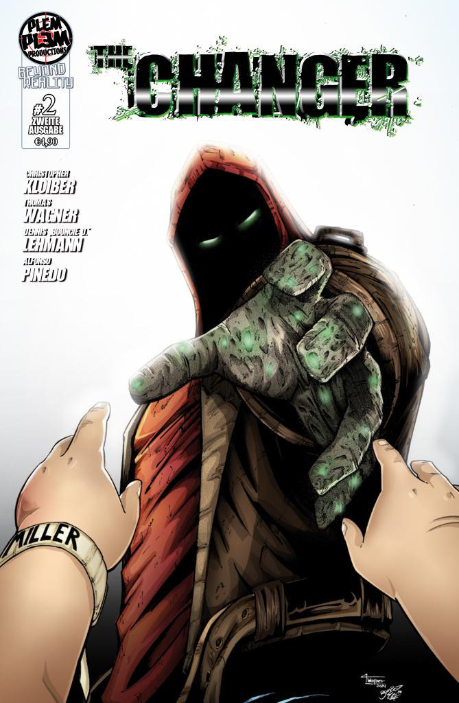 Cover Coloring The Changer # 2 by BouncieD