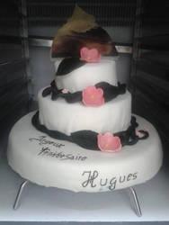 Normandy Wedding Cake by Hidek93