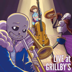 Live at Grillby's by TsukiAnimeGirl
