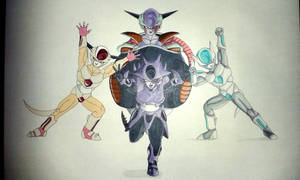 Frieza Tokusentai! - Markers by Rubidium91