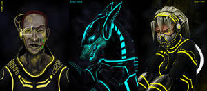 Tron Quickies2 by FablePaint