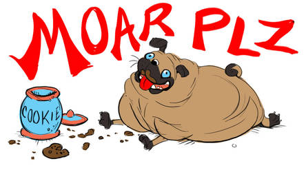 Extra Credits: MOAR PUG by FablePaint
