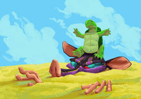 Kiddy Korner: Turtle by FablePaint