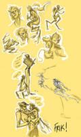 Frik Half-Dead by FablePaint