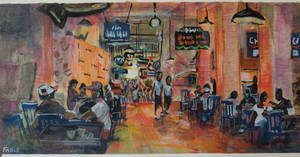 plein air Grand Central Market 1 by FablePaint