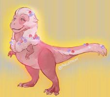 Cutie Rex by FablePaint