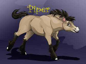 Piper Przewalski by FablePaint