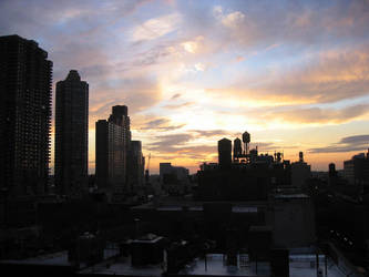 West Side Manhattan by celebdu