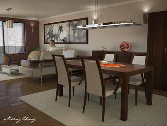 Table for eat by meling-3d