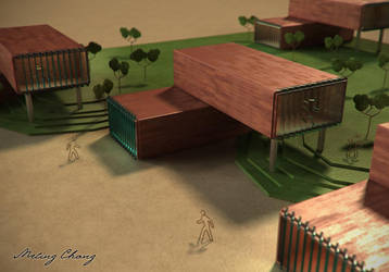 Miniature Model by meling-3d