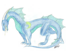 Hatched dragon Adoptable by JetHero13