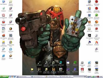 Judge Dredd Desktop by ailaik