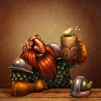 Male Dwarf by Bubaben