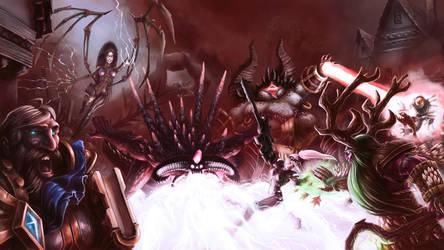 Hots Evil Prevails by Bubaben