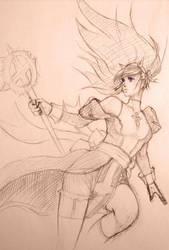 Ragnarok: High Priest Kyrari by Alvein23