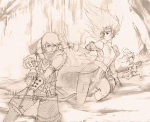 Ragnarok: Abys party by Alvein23