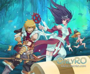 Ragnarok online: Abyss lake party by Alvein23