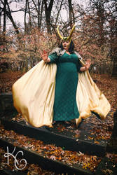 Madam Loki Cosplay II by RainingSakura