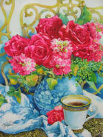 Rose in Summer by PaintingKim