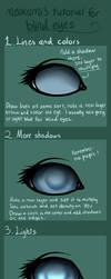 Tutorial for blind eyes! by taivalsin