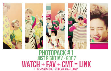 [ Photo Pack #1 ] Just Right MV - GOT7 Pack by SaeStoos153