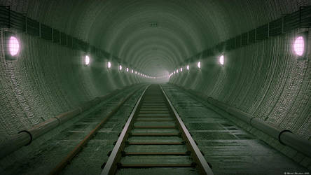 Subway Tunnel by MjP-70