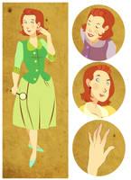 Nancy Drew, Again by lemonflower