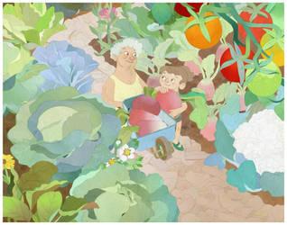 Little Farmers by lemonflower