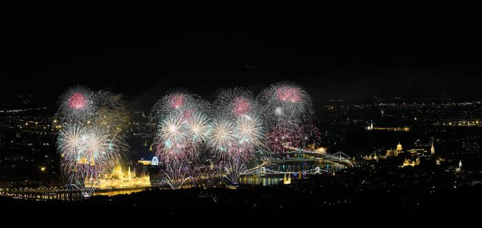 Fireworks Composite Test by HoremWeb