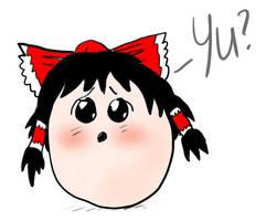Yukkuri Reimu 2 by ThatArtistFeller