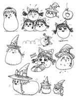 Yukkuri Sketches by ThatArtistFeller