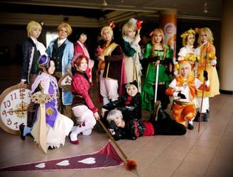 Hetalia: Royals and Jokers by dorkodile
