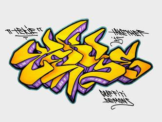TEKIE (Graffiti-Demons) [150427] by takethef