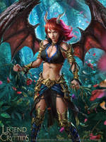 Legend of the Cryptids - Anneli adv. by anotherwanderer