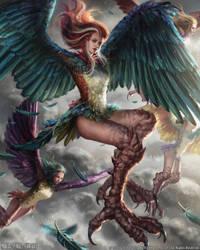 Mobius Final Fantasy - Dira by anotherwanderer