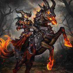 Undead Warlock by anotherwanderer