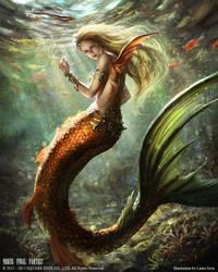 Mobius Final Fantasy - Mermaid by anotherwanderer