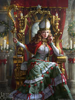 Legend of the Cryptids - Yule Queen Lalanoel reg. by anotherwanderer